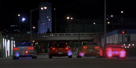 scene from 2 fast 2 furious
