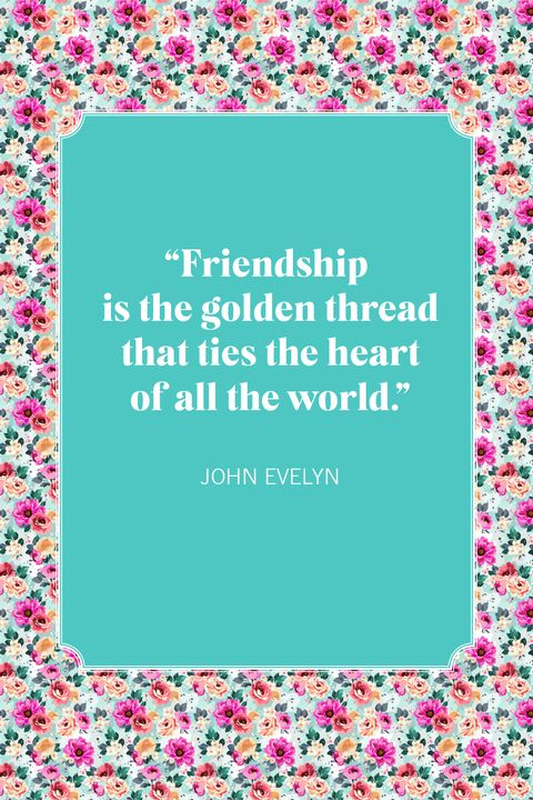 friendship quotes john evelyn