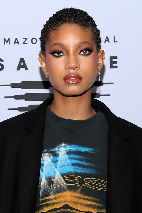 los angeles, california   october 02 in this image released on october 2, willow smith attends rihannas savage x fenty show vol 2 presented by amazon prime video at the los angeles convention center in los angeles, california and broadcast on october 2, 2020 photo by jerritt clarkgetty images for savage x fenty show vol 2 presented by amazon prime video