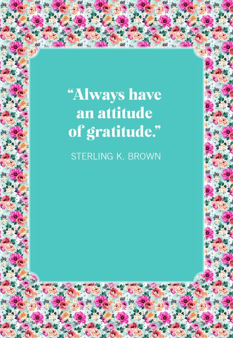 gratitude quotes sterling k brown