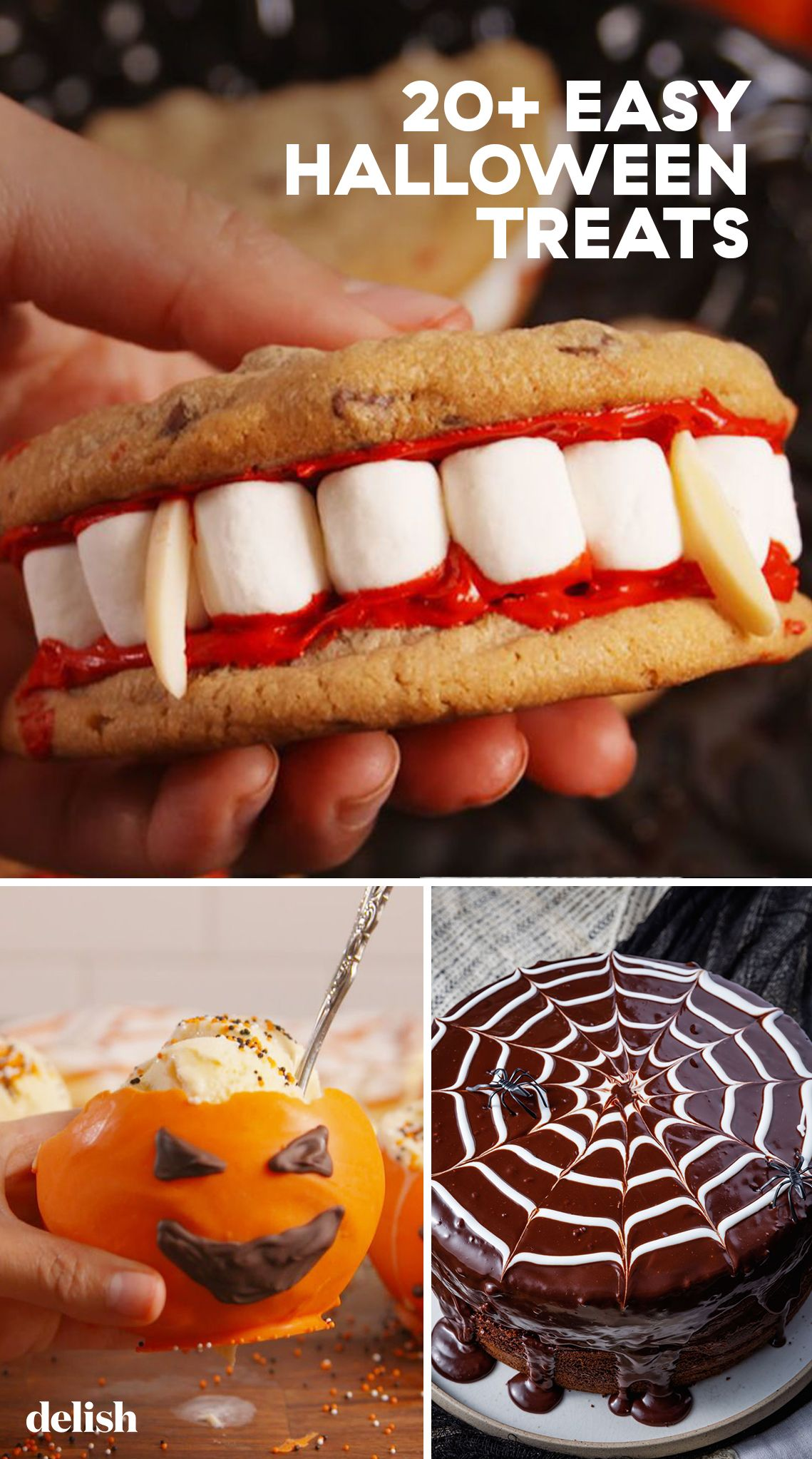 30+ Easy Halloween Party Treat Ideas - Best Recipes for Halloween Treats —Delish.com