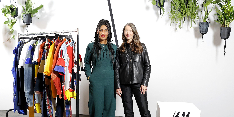 Priya Ahluwalia, winner of H&M Design Award 2019 and Ann-Sofie Johansson