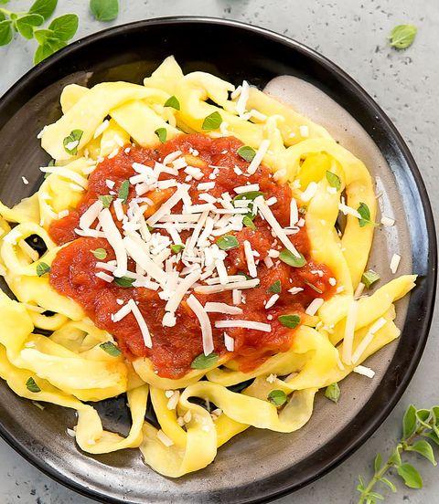 2-Ingredient Keto Pasta