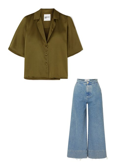 Clothing, Denim, Sleeve, Product, Outerwear, Collar, Jeans, Pocket, Footwear, Textile,