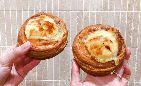 八月堂,可頌,焦糖烤布蕾可頌,麵包推薦,台北甜點,台北伴手禮,sogo美食