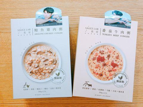 完美男人修杰楷自創品牌「佐室 SAUCE LAB」,推出2款粥品即食包和3種料理醬。