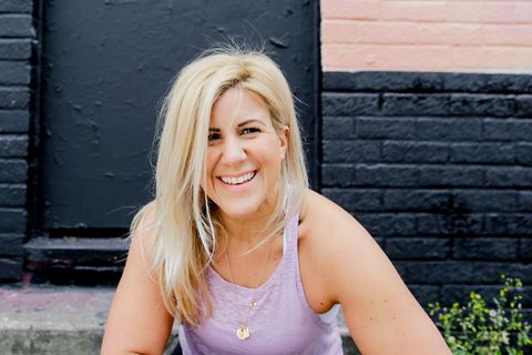 Laura Hoggins: 'How building biceps through weight lifting saved my self-esteem'