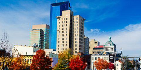 lexington kentucky cityscape