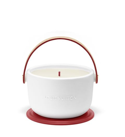 Louis Vuitton Red Candle