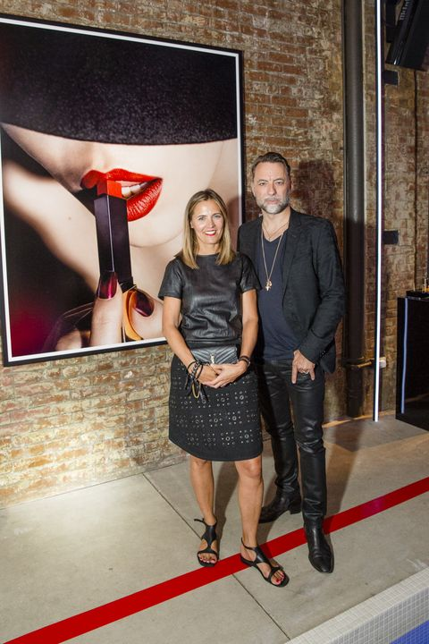 Marie Audier D'Alessandris  and Kennth Willardt