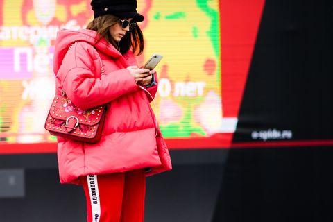 Street Style Russia Fashion Week