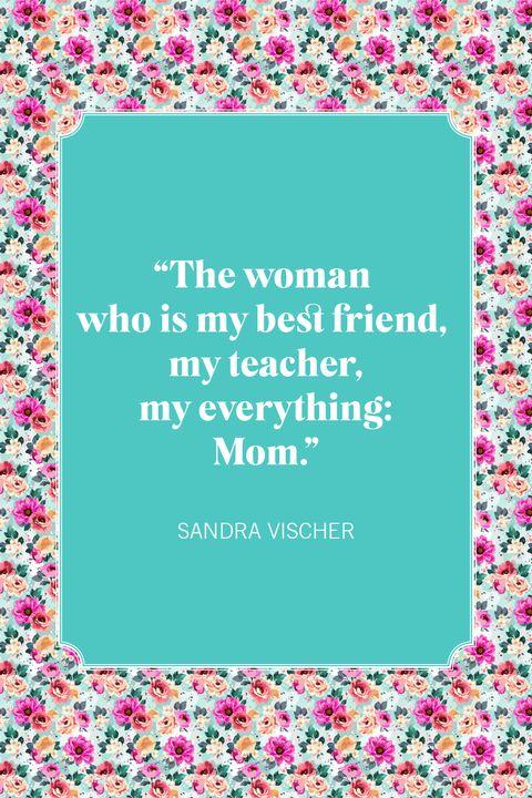 mother daughter quotes sandra vischer
