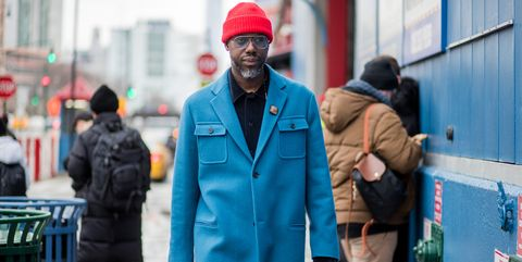 Menswear Street Style New York Fashion Week Men's