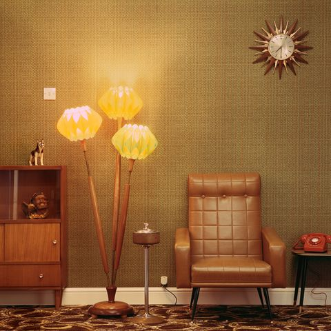 1960s style lounge