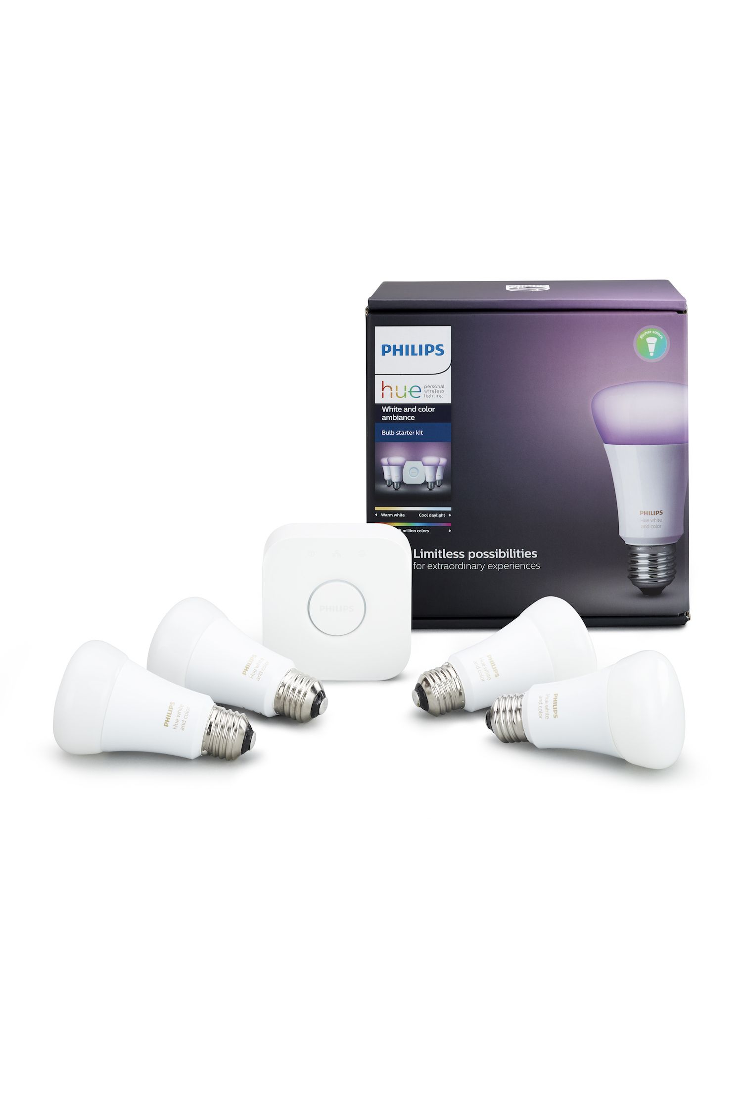 Philips Hue White and Color Ambiance Personal Lighting Starter Kit