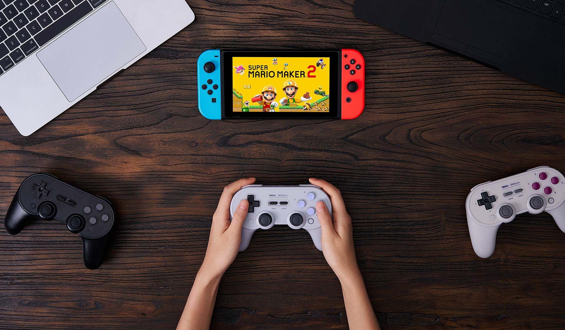 8BitDo's New SN30 Pro+ Controller Is Even Better Than Nintendo's OG
