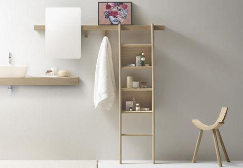 Shelf, Furniture, Shelving, Room, Interior design, Table, Material property, Floor, Flooring, House,