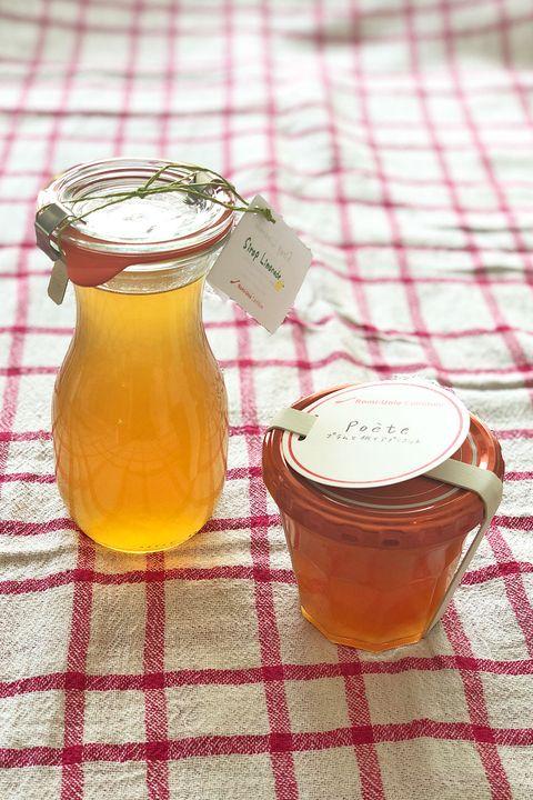 Fruit preserve, Drink, Food, Lekvar, Ingredient, Kombucha, Juice, Yujacha, Mason jar, Syrup,