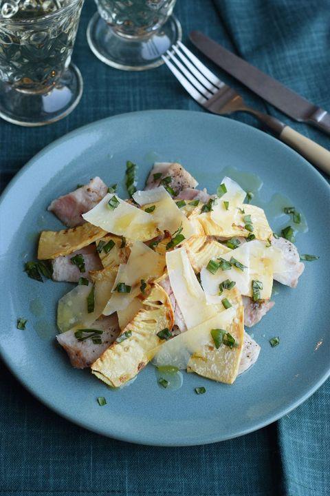 チップスたけのこと豚肉のグリル パルメザンチーズ風味 のレシピ・作り方 ELLE gourmet [エル・グルメ]