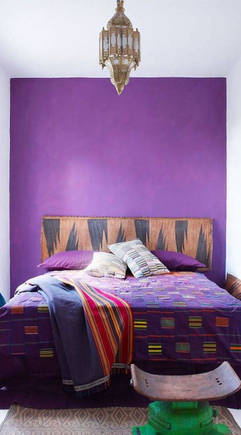 25 Purple Room Decorating Ideas - How to Use Purple Walls ... on lavender lady logo, lavender room decor, lavender girls bedrooms, blue and lavender bedrooms,