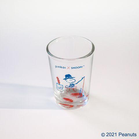 pinkoi x snoopy聯名第三彈!史努比化身小吃攤販,用撈魚、釣蝦經典玻璃杯開箱夜市回憶