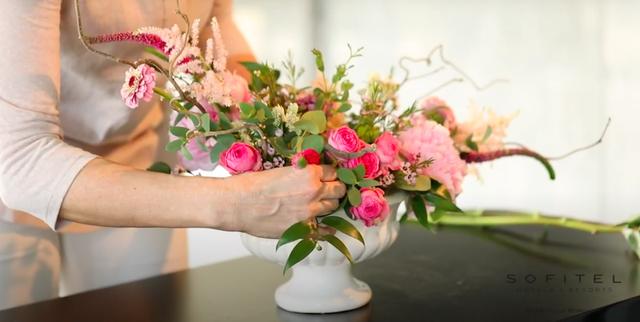 floral arrangement by flavia bruni