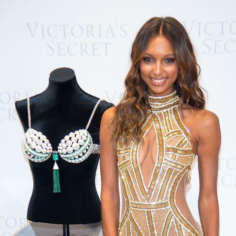 Jasmine Tookes Victoria's Secret Fantasy Bra