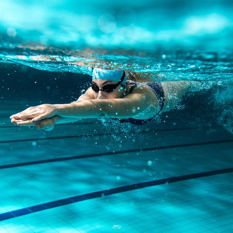 Swimming, Recreation, Water, Swimming pool, Individual sports, Swimmer, Freestyle swimming, Underwater, Sports, Leisure centre,