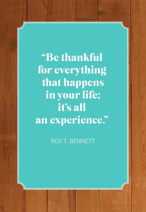 thanksgiving quotes roy bennett