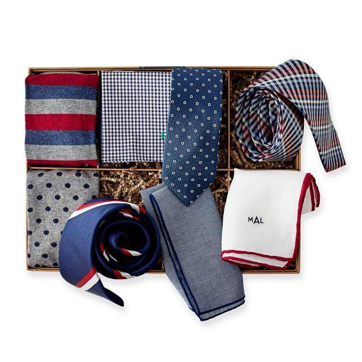 the tie bar x mark & graham 8-piece gift set luxury fathers day gifts veranda