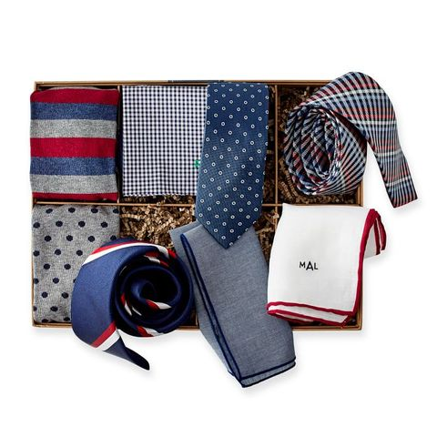 the tie bar x mark & graham 8-piece gift set luxury fathers day gifts veranda