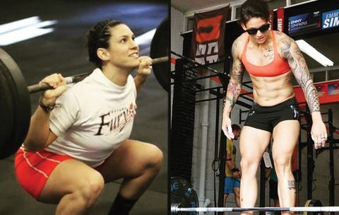 Top 10 hot crossfit girls before and after