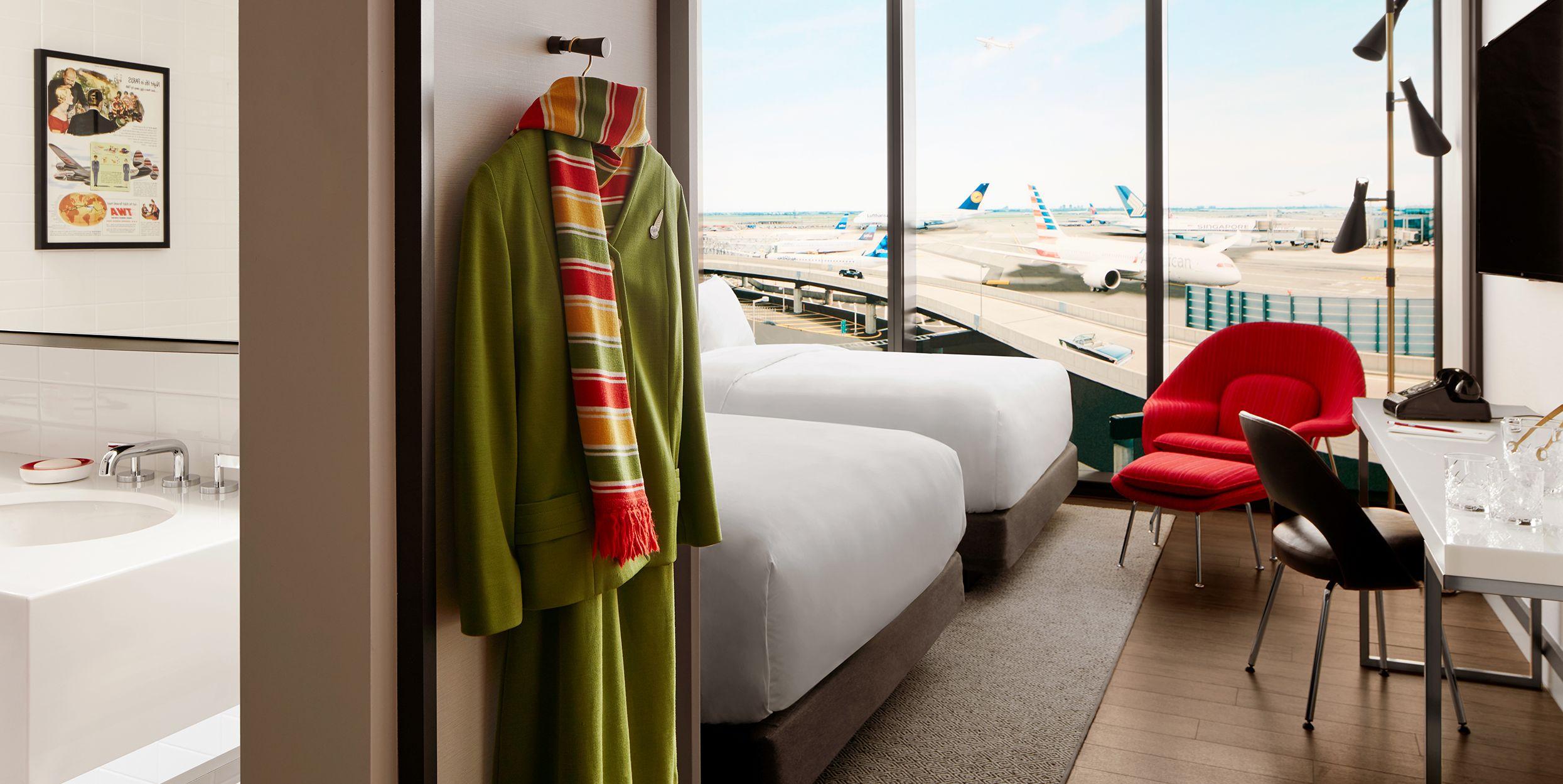 TWA Hotel: il terminal dell'aeroporto JFK di New York, progettato da Eero Saarinen, oggi è un hotel