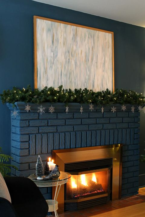 diy winter mantel garland christmas garland ideas