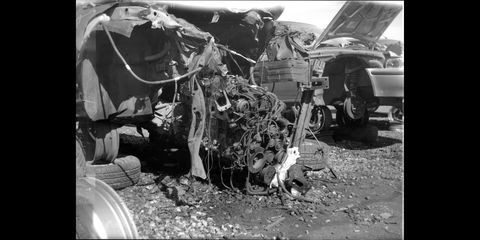 denver junkyard photographed with 1897 kodak bulls eye camera