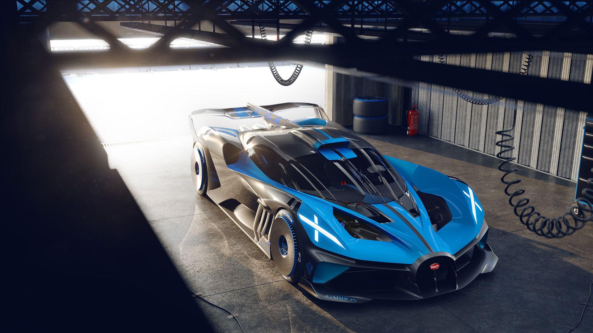 Bugatti Bolide Is An 1825 Hp Lightweight Track Monster