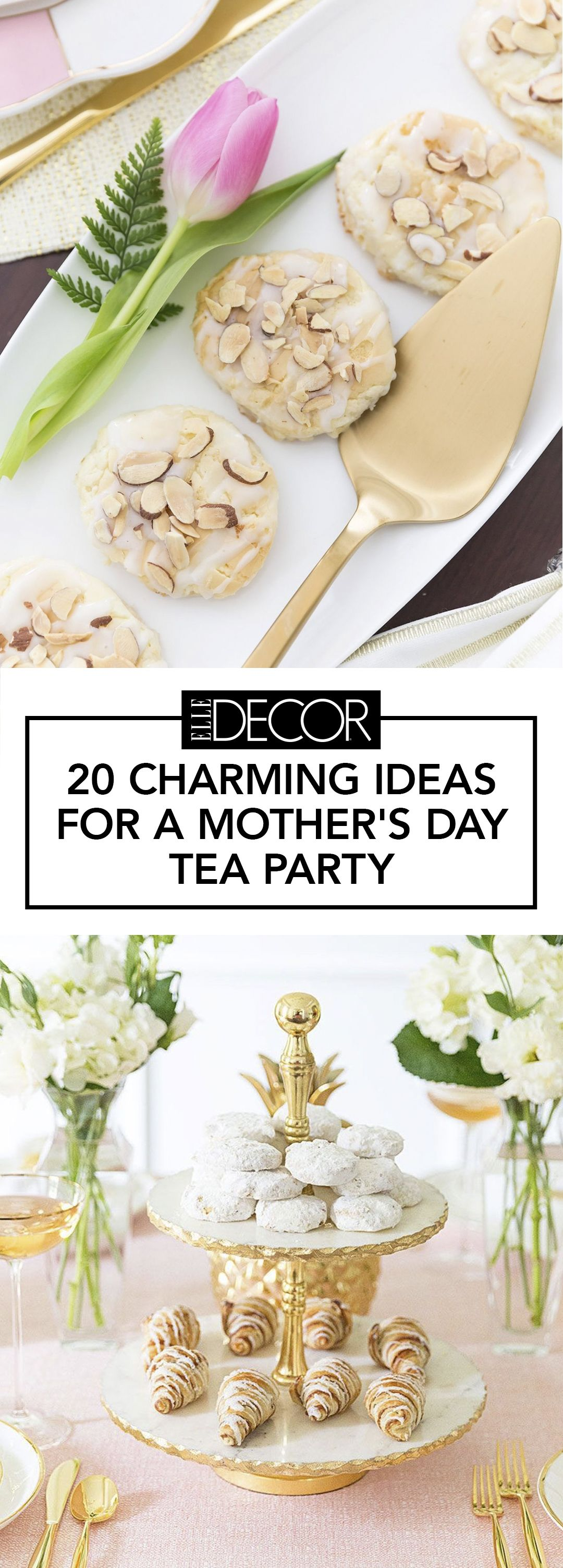 20 Best Tea Party Ideas - Mother\'s Day Ideas