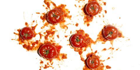 Food, Dish, Cuisine, Tomato, Ingredient, Solanum, Cherry Tomatoes, Produce, Vegetarian food, Recipe,