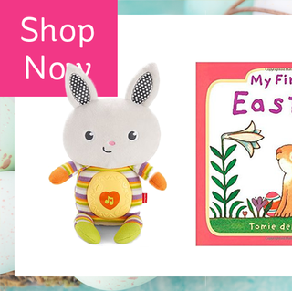 28 easter gift ideas for kids best easter baskets and fillers for 20 gifts to make babys first easter memorable negle Choice Image