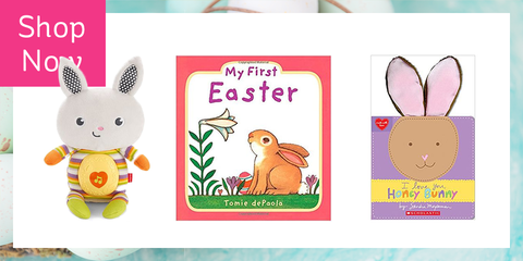 20 cute easter gifts for babies babys first easter basket fillers 20 gifts to make babys first easter memorable negle Choice Image