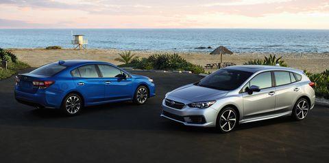 2020 Subaru Impreza Costs 100 More Gets 1 Mpg Less