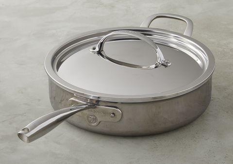 Product, Cookware and bakeware, Lid, Metal, Sauté pan, Saucepan, Aluminium, Silver, Silver, Fashion accessory,