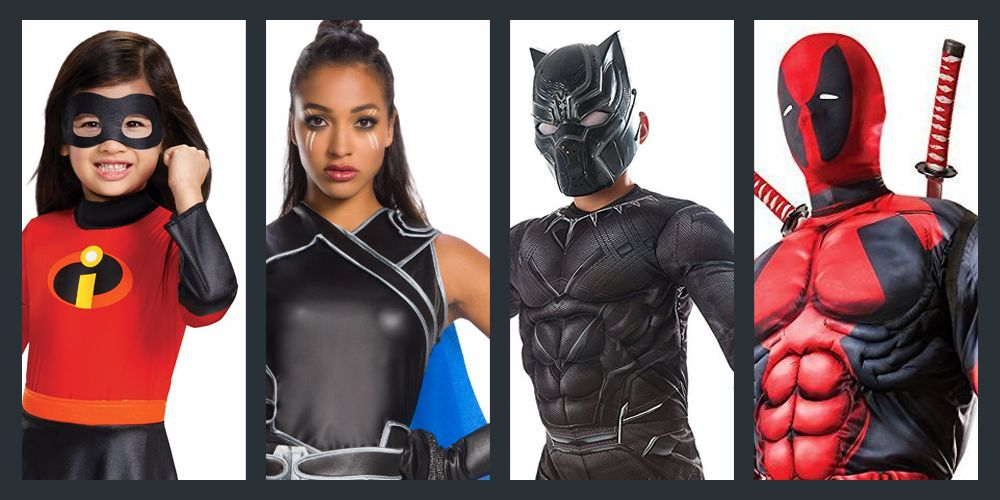20 Superhero Halloween Costumes That Kick All the Butt  sc 1 st  Good Housekeeping & 20 Best Superhero Halloween Costumes - Cool 2018 Superhero Costume Ideas