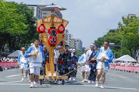 婦人画報 鷹山 京都 祇園祭 巡行