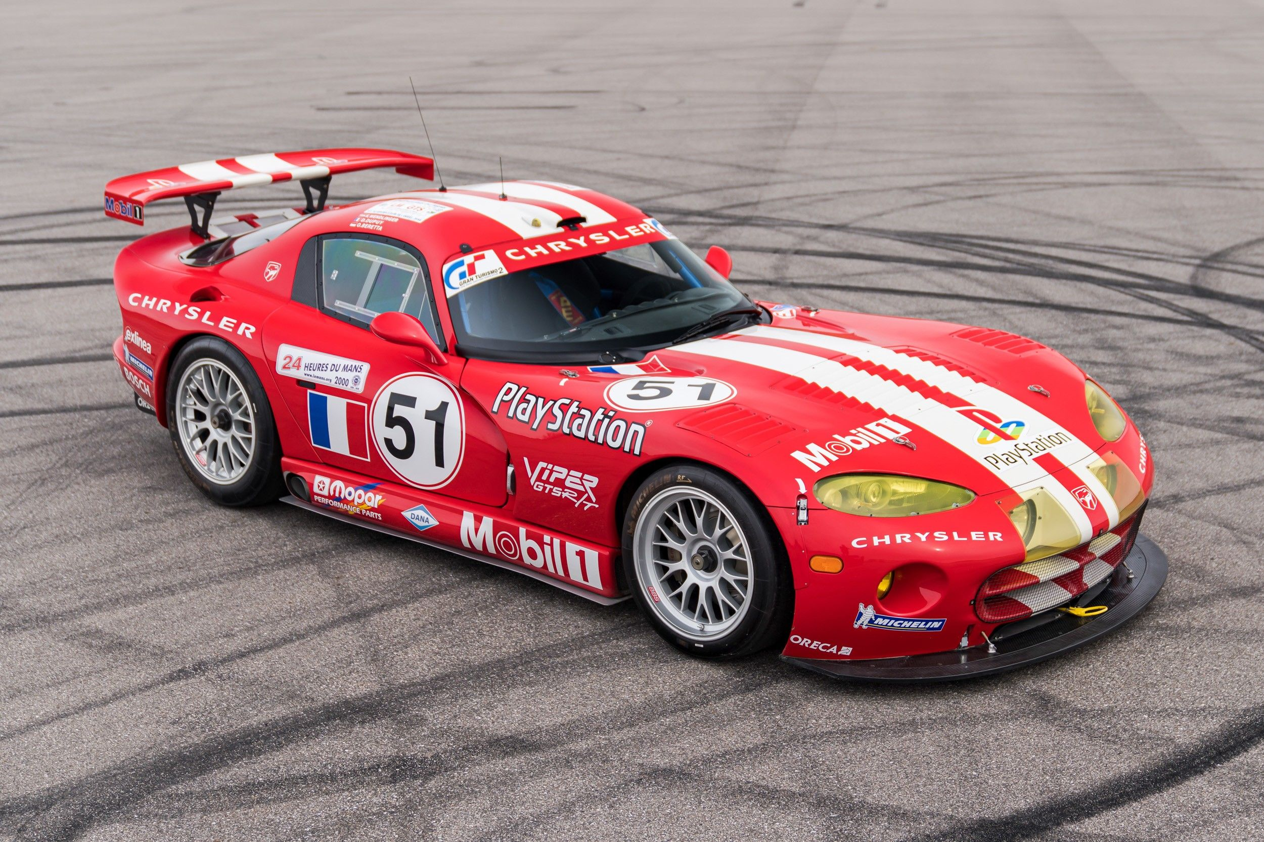 One of You Needs to Buy This Le Mans-Winning Viper GTS-R