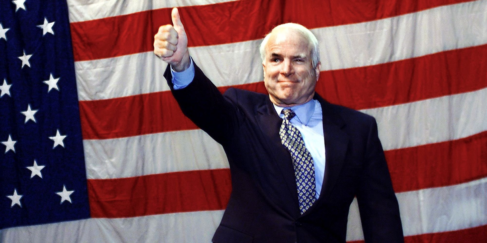 Former Republican presidential candidate US Senato