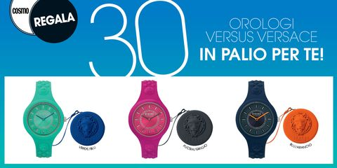 Gli orologi Versus in palio con i Cosmo Regala