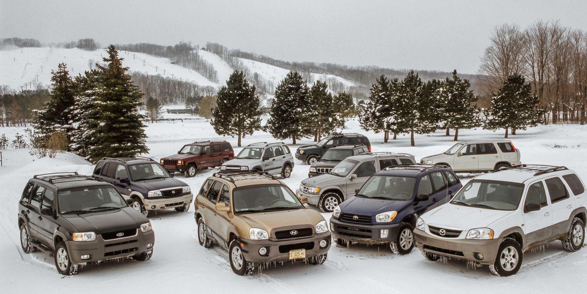 Tested: 2001 Compact SUV Winter Showdown