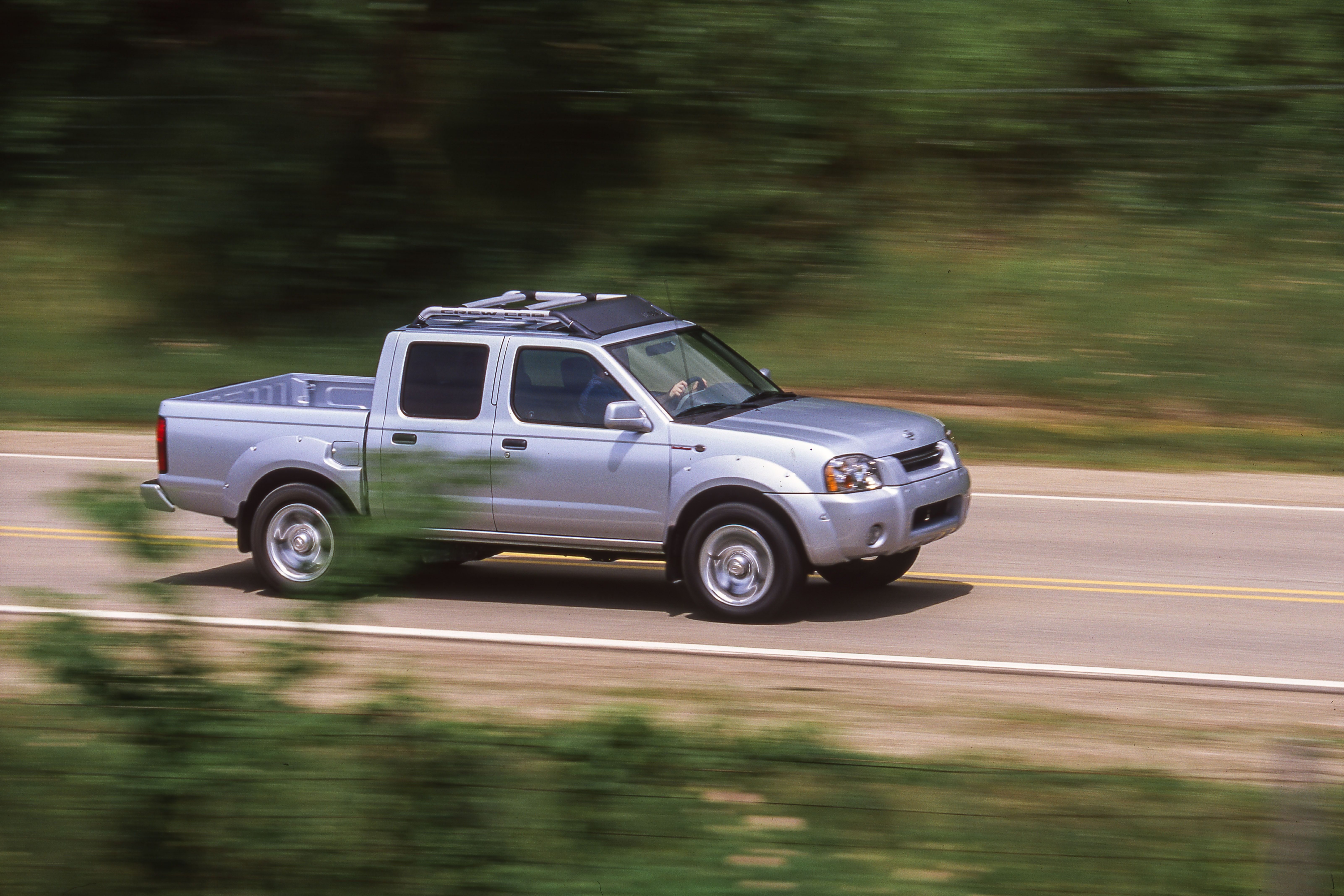 Tested 2000 Nissan Frontier Sc Crew Cab Gains Much Needed Power
