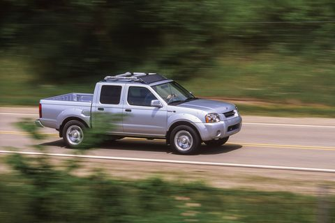 2000 nissan frontier sc crew cab